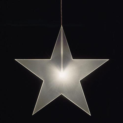 Stjärna Frost ø33cm, 1cm tjock.