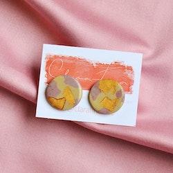 Stud rosa & guld