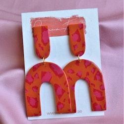 Arch orange & rosa leo