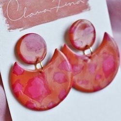 Sandra orange & rosa leo