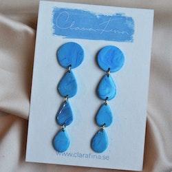 Blå droppar