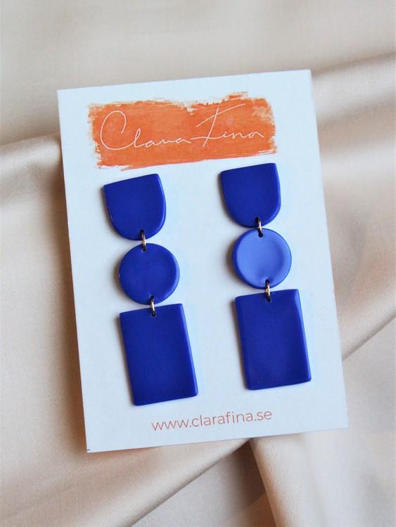 Multi shape blå