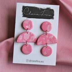 Multi shape rosa terrazzo