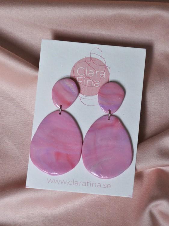 Signe rosa marmorering
