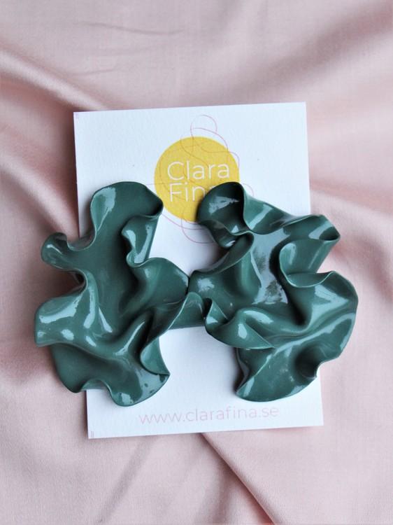 Satin silvergransgrön