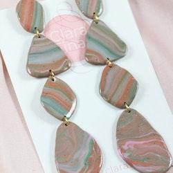 Stensamling flerfärgad
