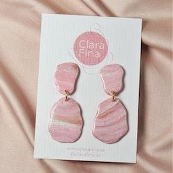 Stensamling två rosa stenar