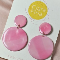 Dubbelprick rosa toner