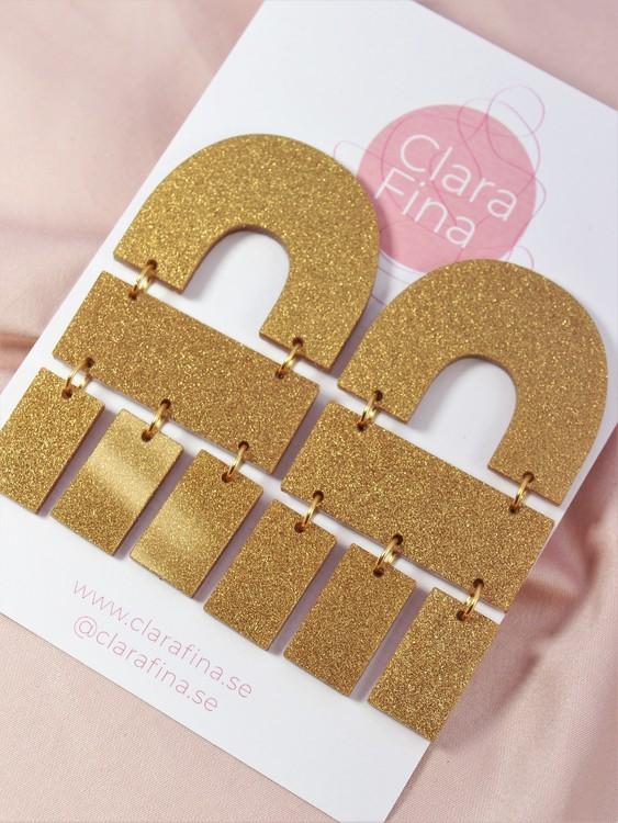 Multi Shape guldglitter