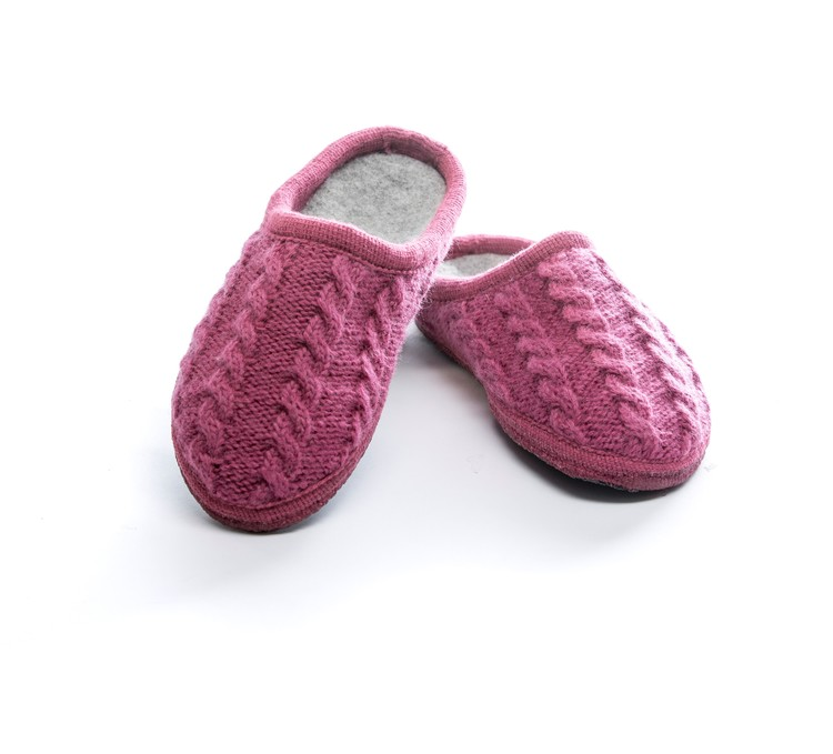 Ulle Original - cabel knit pink