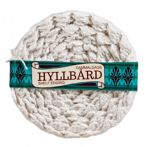 Gammaldags hyllbård - bomull