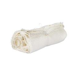 Duk säckväv linne - benvit