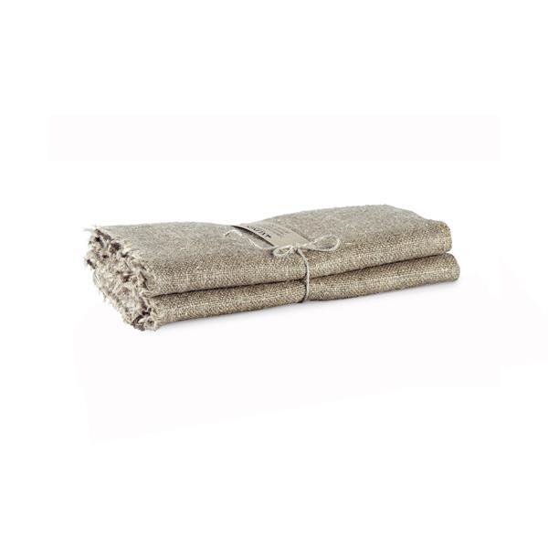 Handduk grov linne - natur