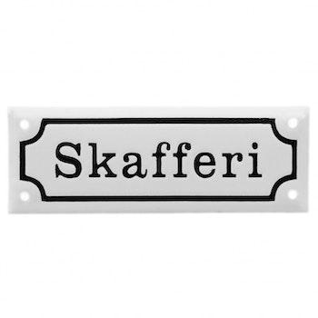 Emaljskylt - Skafferi