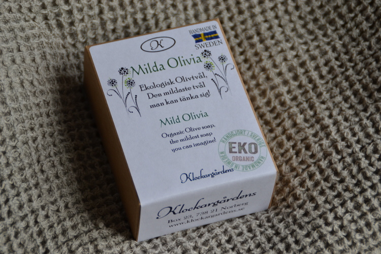 Ekologisk olivtvål