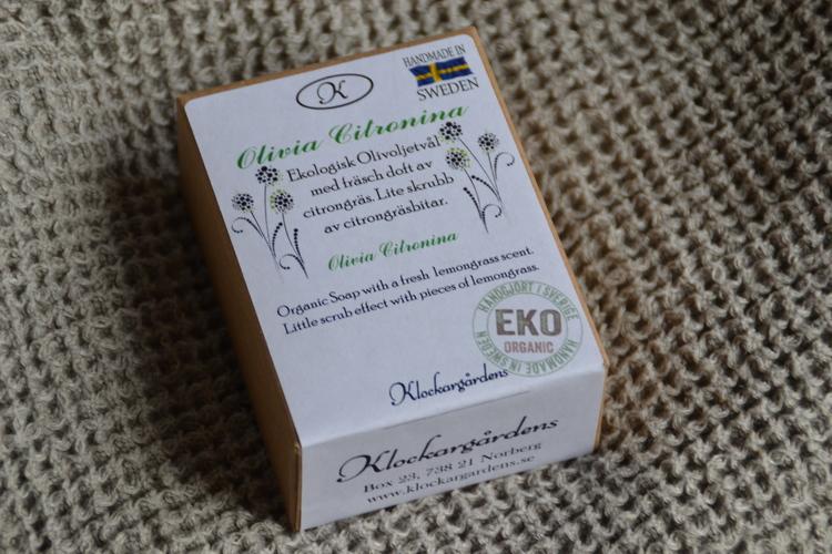 Ekologisk olivtvål Citronia