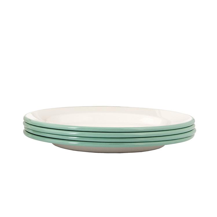 Kockums flat tallrik - Cream Lux