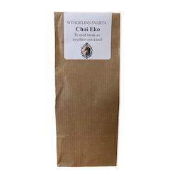 Ekologiskt te - chai eko SVARTA