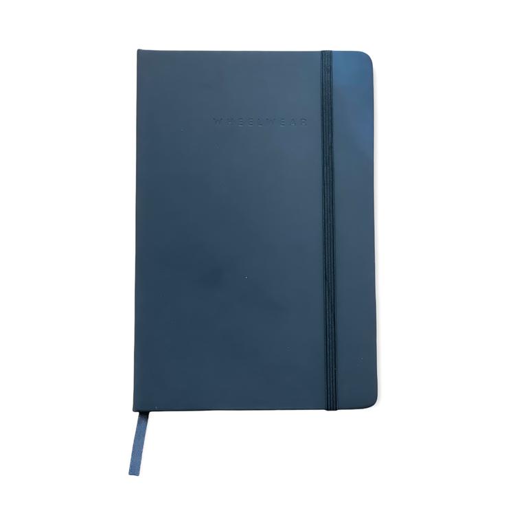 Svart anteckningsbok