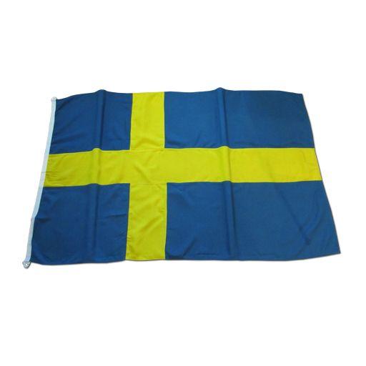 Svensk flagga KRONAN 400cm