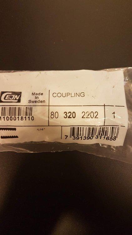 """Cejn Coupling G 1/4"""" 80 320 2202"""