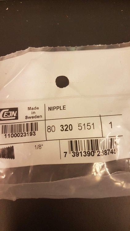 """Cejn Nipple R 1/8"""" 80 320 5151"""