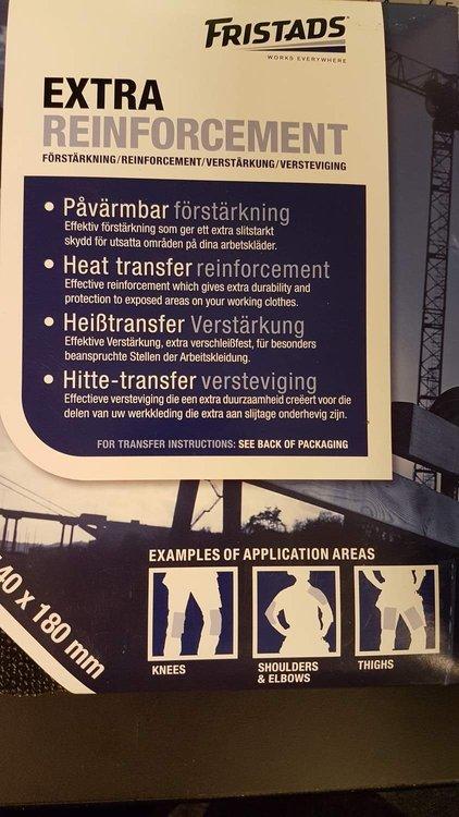 Förstärkning  KEV-958-99  2 pcs. 140x 180 mm
