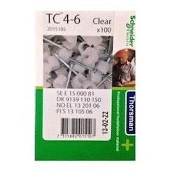 Klammer TC 4-6 natur 100st