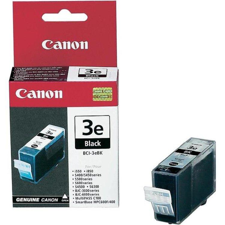 Canon BCI-3eBK svart bläckpatron
