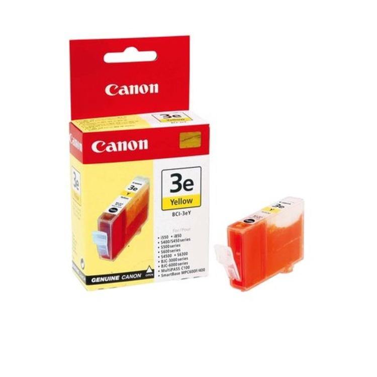 Canon BCI-3eY Gul Bläckpatron