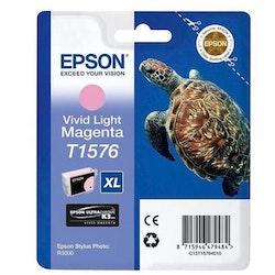 Epson T1576 vivid ljusmagenta bläckpatron