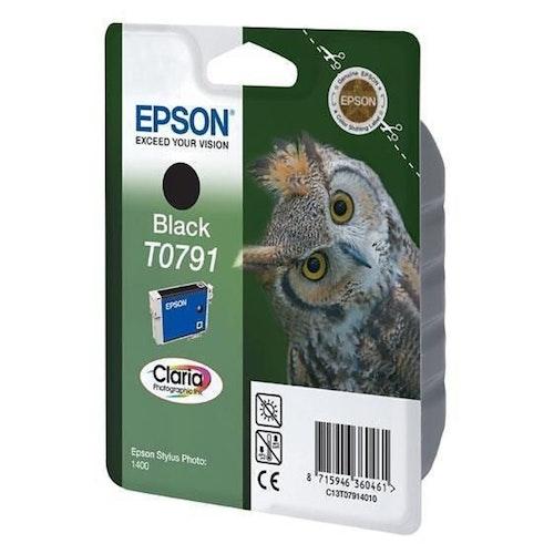 Epson T0791 svart bläckpatron