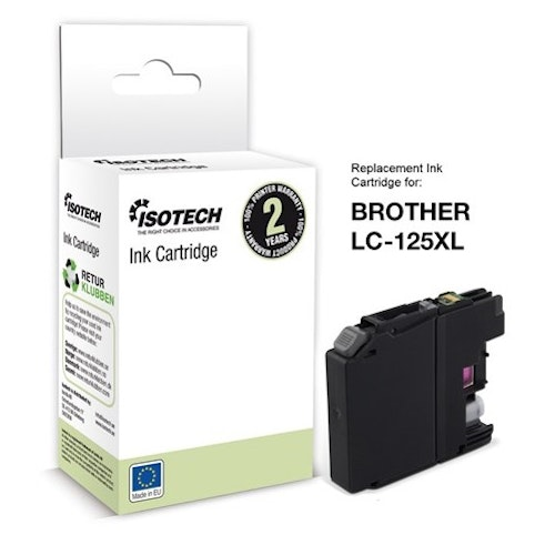 ISOTECH Replacement Brother LC-125XL Magenta