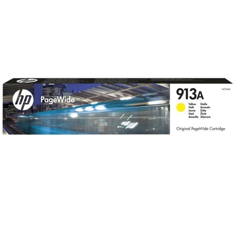 HP F6T79AE Bläckpatron gul, HP913A