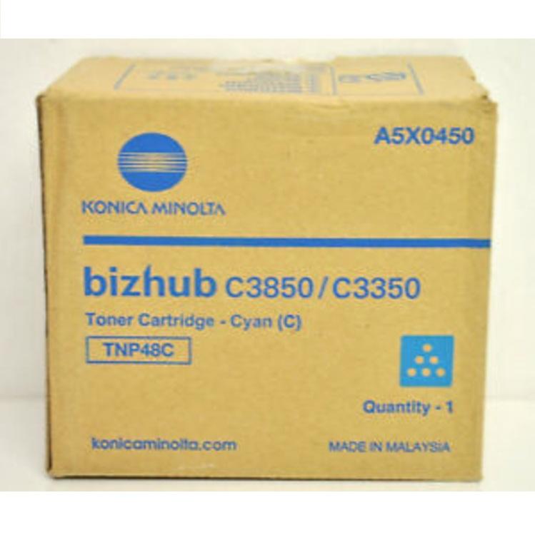 Konica Minolta TNP-48C (A5X0450) cyan toner