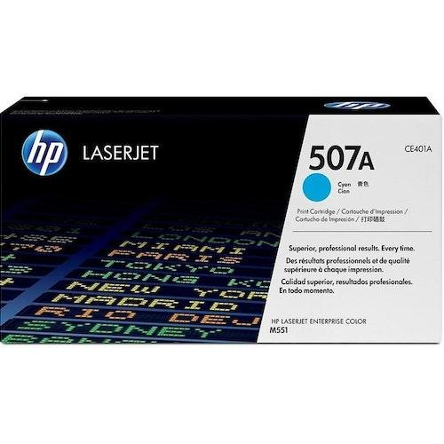 HP 507A (Cyan) Tonerkassett CE401A