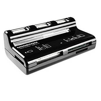 Card Reader ModeCom CR-WAVE Svart
