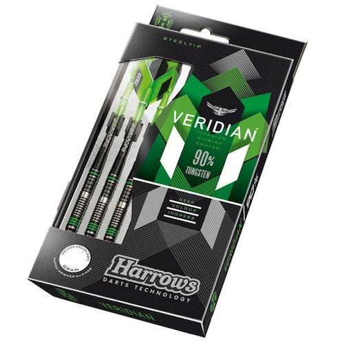 Harrows Veridian 90%Tungsten 24g Dartpilar