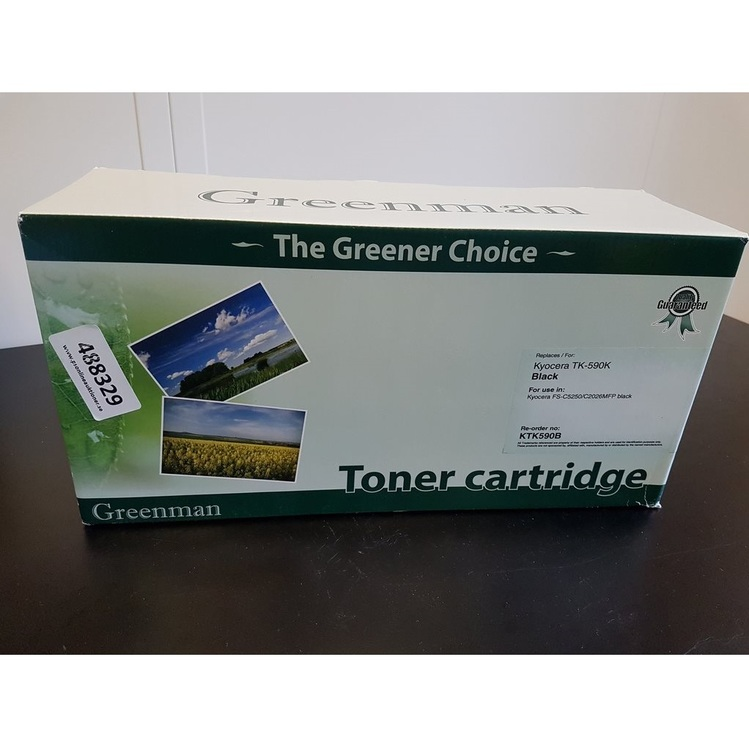 Greenman toner cartridge Kyocera TK-590K Svart
