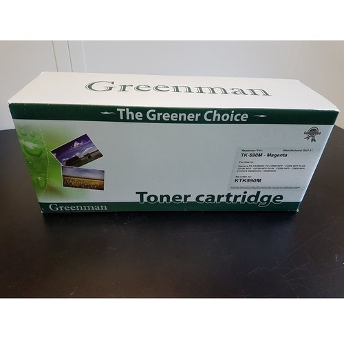 Greenman Toner Cartridge TK-590M Magenta