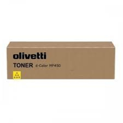 Olivetti Toner d-Color MF450/MF550 Yellow