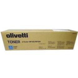 Olivetti Toner d-Color MF450/MF550 Cyan
