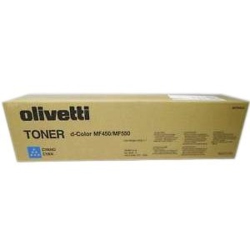 Olivetti Toner d-Color MF450/MF550 Cyan