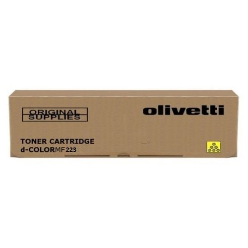 Olivetti tonerkassett Yellow d-Color MF223/MF283
