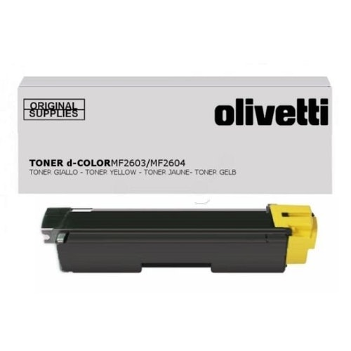 Olivetti Tonerkassett d-Color MF2603/MF2604 Gul
