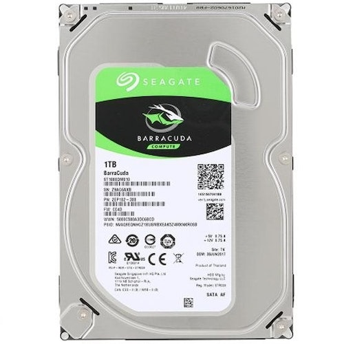 Seagate Barracuda 1tb HDD 3.5
