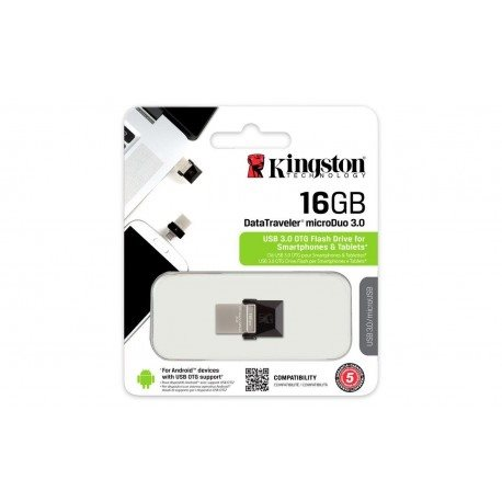Kingston DataTraveler Microduo USB-Minne 3.0 16GB