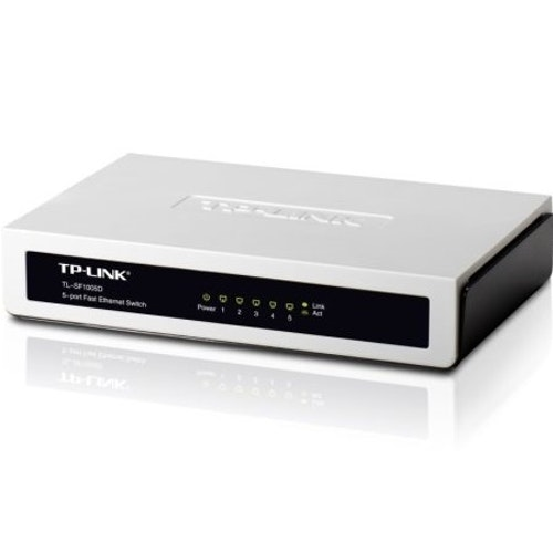 TP-Link 5 port 10/100M Desktop Switch