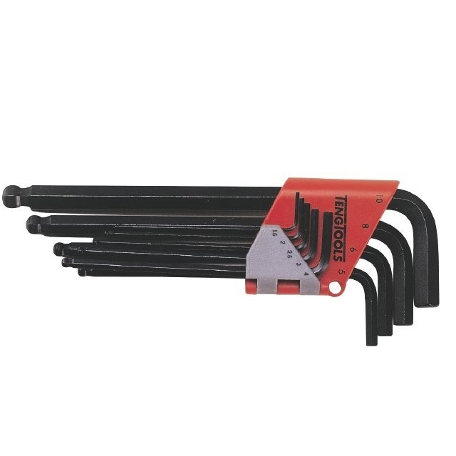 Sexkantnycklar i sats Teng Tools 1479MM 1.5mm-10mm
