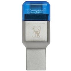 Kingston MobileLite Duo 3C microSD kortläsare, USB typ-C